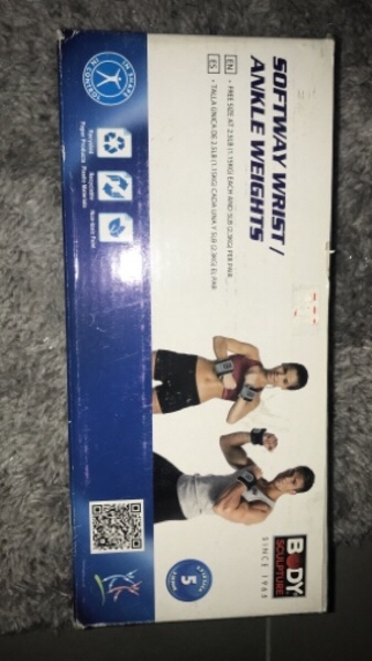 Used Wrist/ankle weights (5 lbs in the pair) in Dubai, UAE