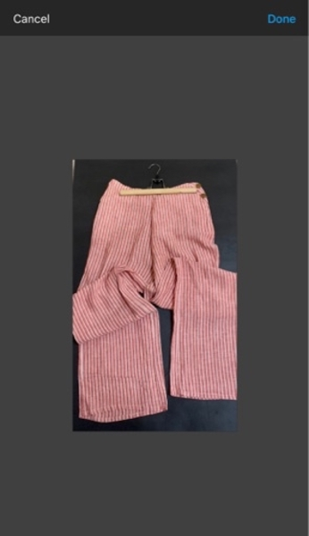 Used Zara 2 pieces crop and pant / medium in Dubai, UAE