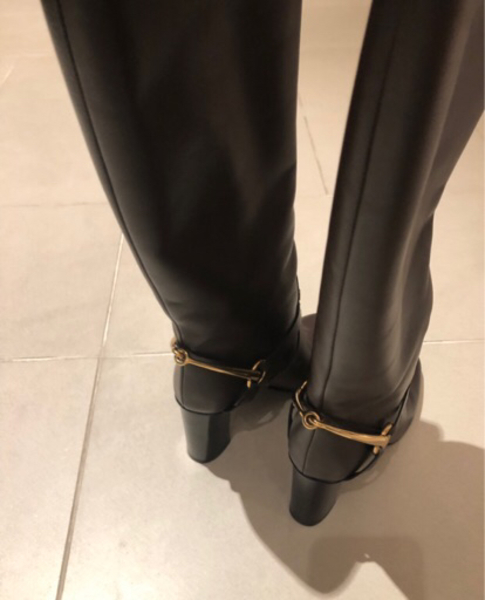 Used Authentic Gucci boots like new 37 women in Dubai, UAE