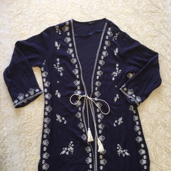 Used long embroidered cardigan (size 10) in Dubai, UAE