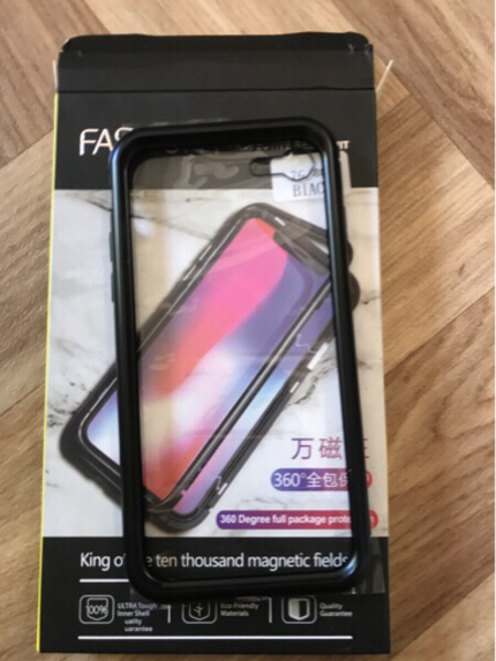 Used Magnetic Iphone 7/8 cover High quality in Dubai, UAE