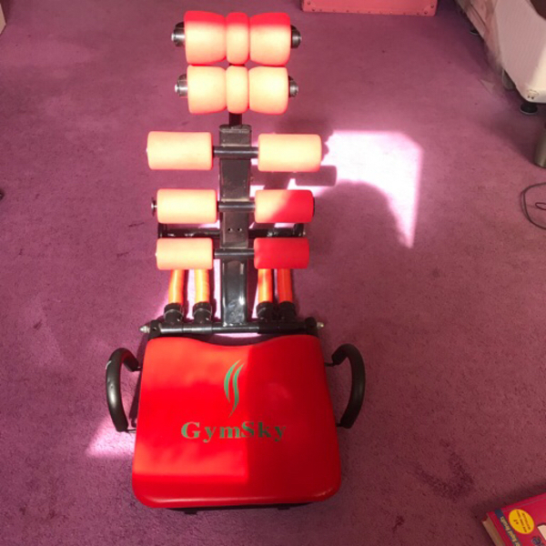 Used Gym sky ab trainer with free workout CD in Dubai, UAE