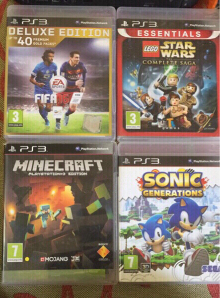 Used PS3 original games dvd in Dubai, UAE