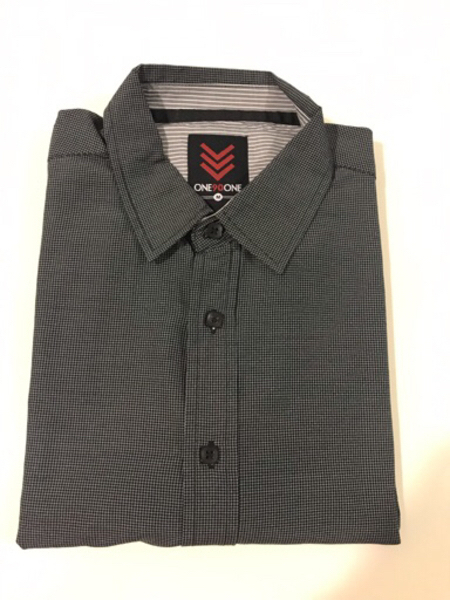 Used NEW ONE90ONE Shirt Size M Color Black in Dubai, UAE
