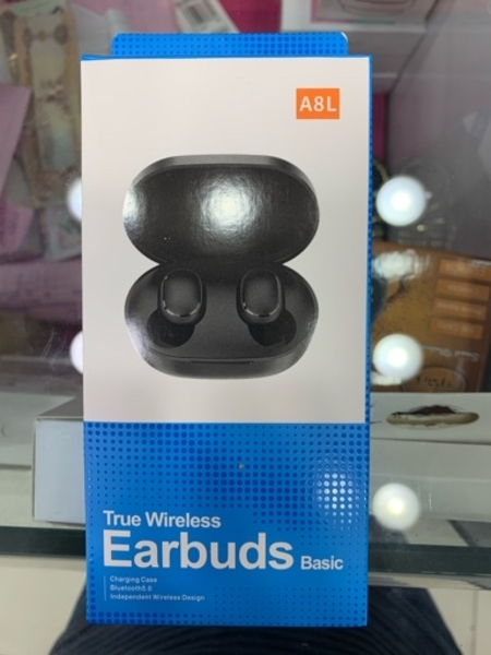 Used true wireless earbuds black in Dubai, UAE