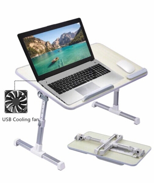 Used Folding Laptop table with cooling fan in Dubai, UAE