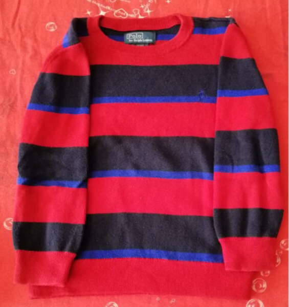 Used Bundle of 2 pullover polo size 5 ! in Dubai, UAE