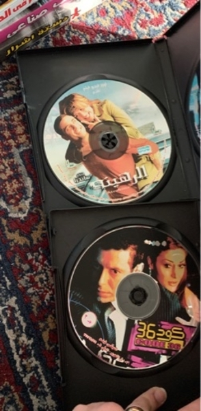 Used DVDs English and Arabic in Dubai, UAE