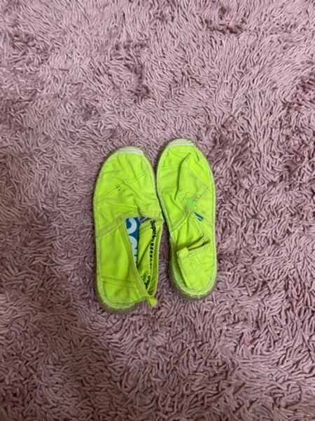 Used Superdry green shoes in Dubai, UAE