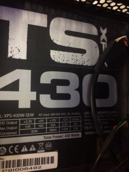 Used TS xfx 430 power supply in Dubai, UAE