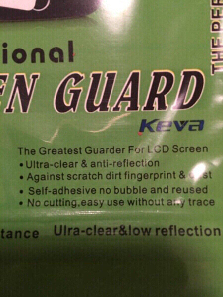 Used 2 Screen Guard Matte IP5G/5S/5C New in Dubai, UAE