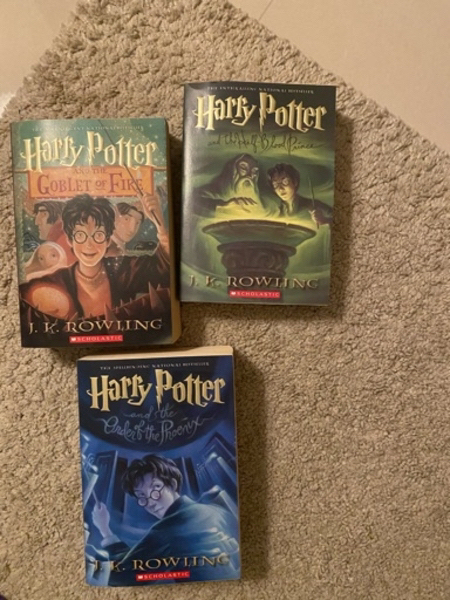 Used Harry Potter six books from 1 to 6 in Dubai, UAE