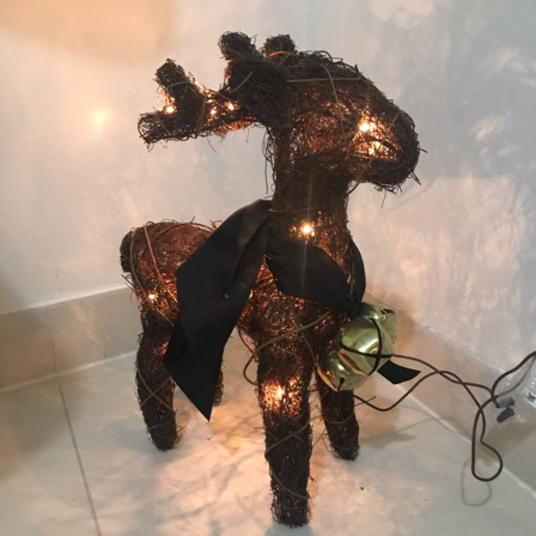 Used Reindeer Light Decoration  in Dubai, UAE