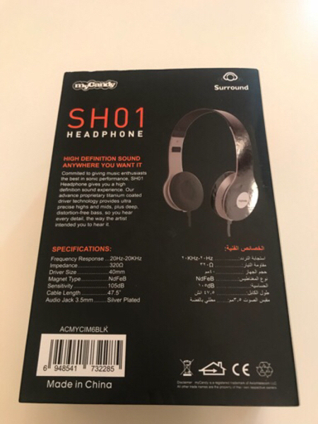 Used My Candy by Axiom-Wired Headphone in Dubai, UAE