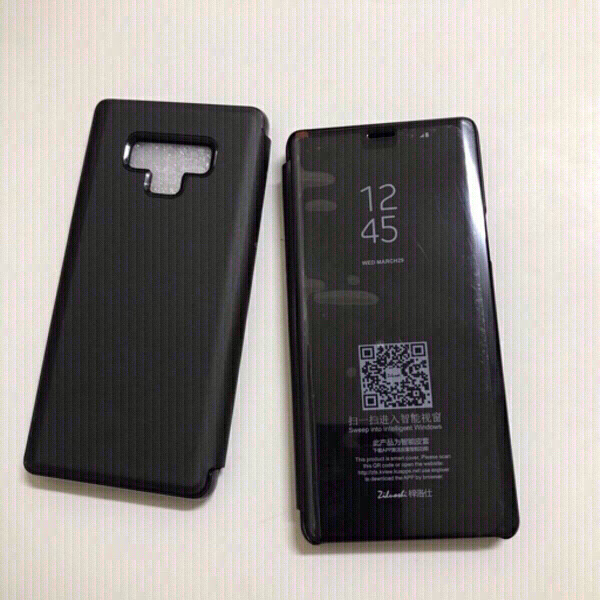 Used Note9 - flip cases (2pcs) black color in Dubai, UAE