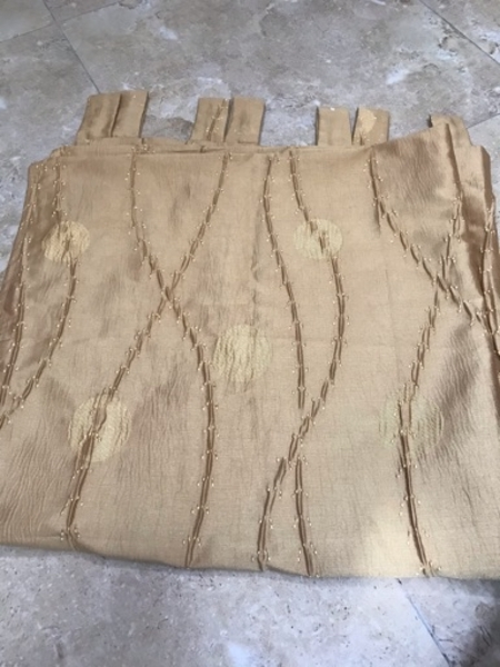 Used Elegant Curtains one pair in Dubai, UAE