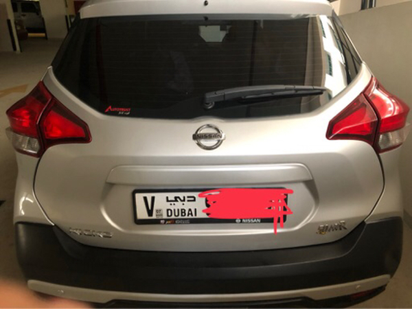 Used Nissan kicks 2018 in Dubai, UAE