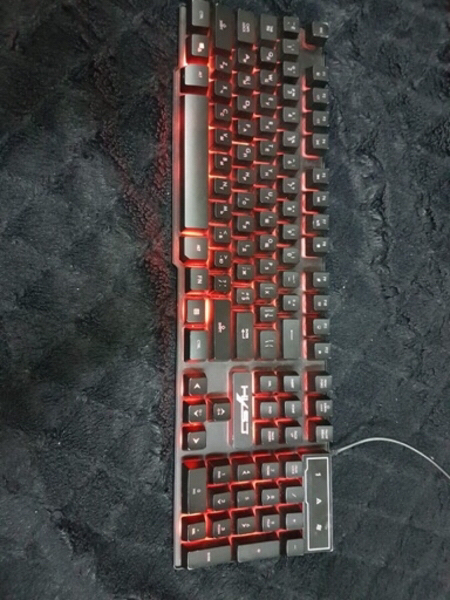 Used Rgb gaming keyboard in Dubai, UAE