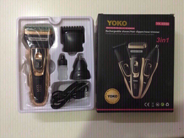 Used Yoko 3 in 1 shaver/hair clipper/trimmer in Dubai, UAE
