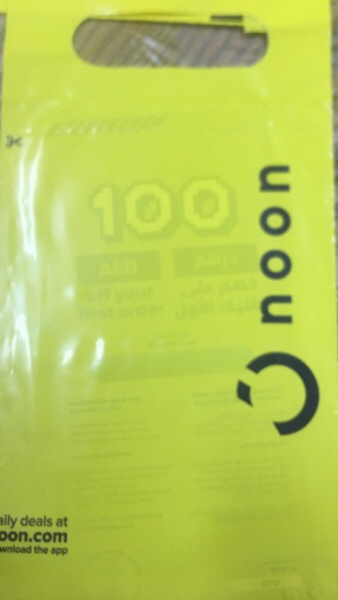 Used Noon 100 dhs voucher in Dubai, UAE