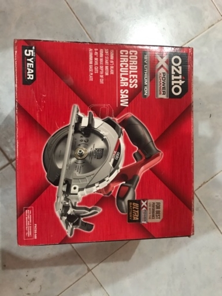 Used Ozito Cordless Circular Saw in Dubai, UAE