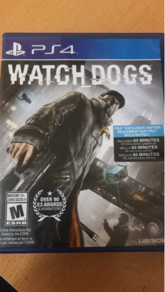 Used WATCH DOGS PS4 in Dubai, UAE