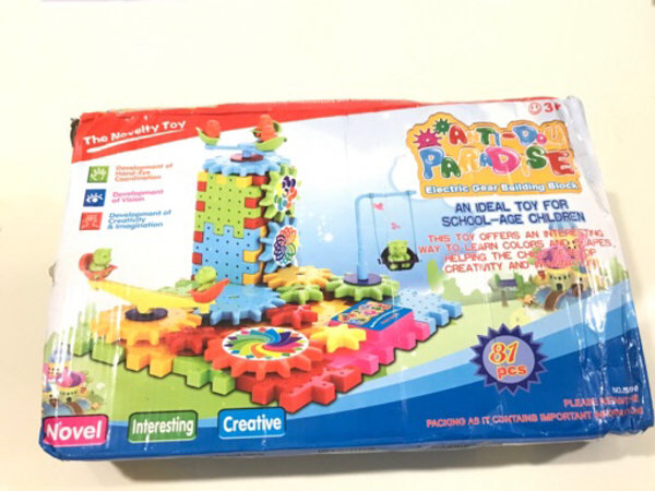 Used NEW The Novelty Toys Gear Building Block in Dubai, UAE