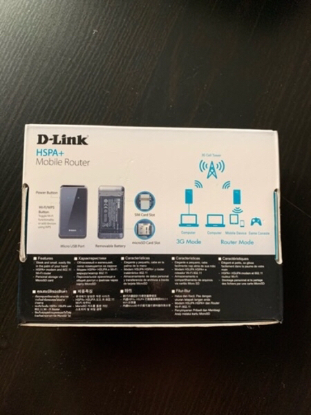 Used Mobile router 3G  SIM CARD D-link in Dubai, UAE
