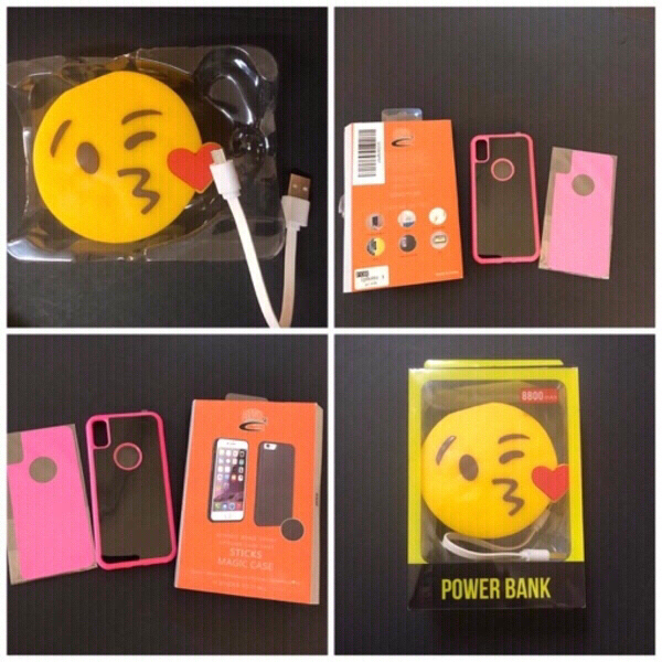 Used Power bank & iphone x cover in Dubai, UAE
