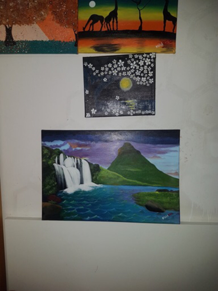 Used Lovely Nature Painting (Water) in Dubai, UAE