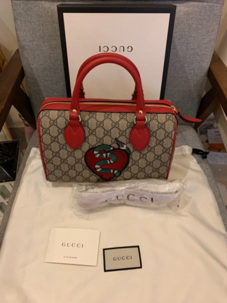 Used Gucci Boston bag, authentic and new in Dubai, UAE