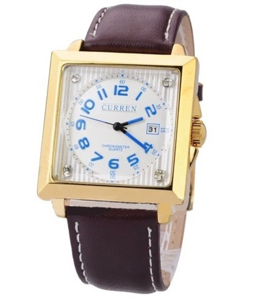 Used curren business gold color men watch in Dubai, UAE