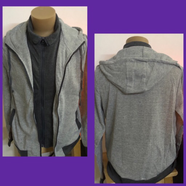 Used Gray Jacket/ 2XL in Dubai, UAE
