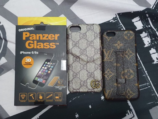 Used MOBILE CASE FOR IP6/6s with FREEBIE in Dubai, UAE