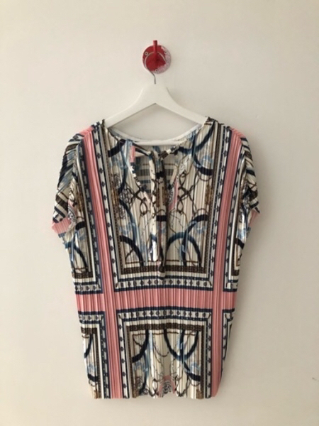 Used New River Island Top Pink Print in Dubai, UAE