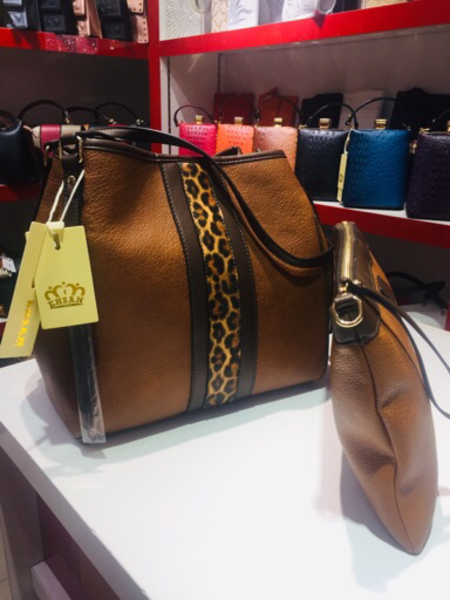 Used 2 in 1 Brown Ladies Bag in Dubai, UAE