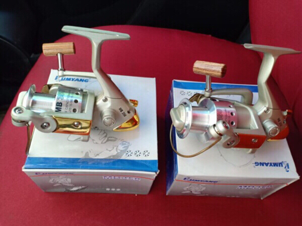 Used 02 nos. Brand new Fishing Reel for Sale in Dubai, UAE