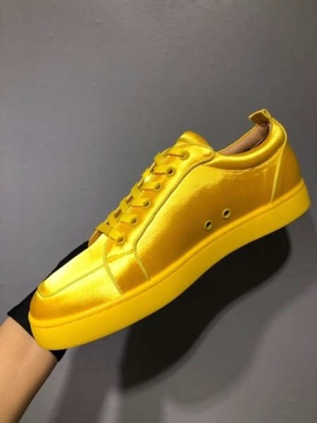 Used Christian Louboutin Yellow men's shoes in Dubai, UAE