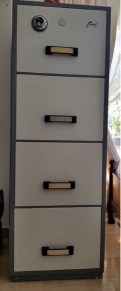 Used Godrej Fire Resisting Filing Cabinet in Dubai, UAE