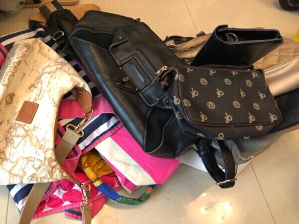 Used RESERVED - ASSORTED BRANDED BAGS in Dubai, UAE