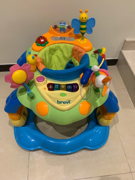 Used 3 in 1 baby walker, excellent condition in Dubai, UAE
