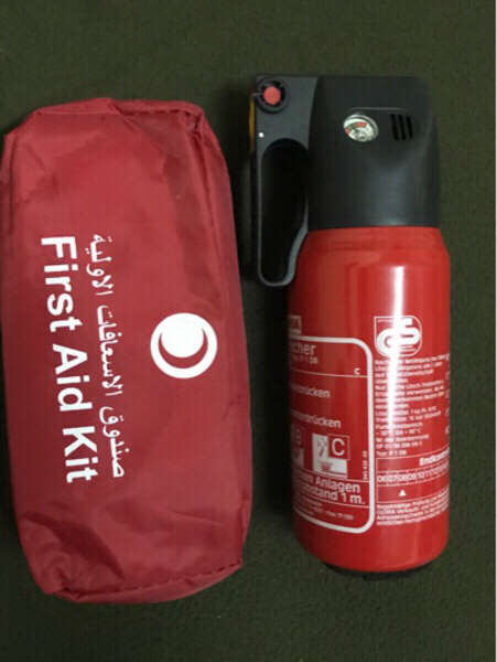Used First Aid kit and Fire extinguisher in Dubai, UAE