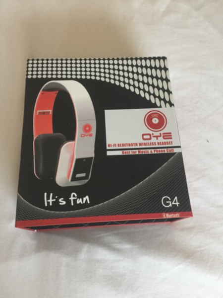 Used orig Oye bluetooth wireless headset in Dubai, UAE
