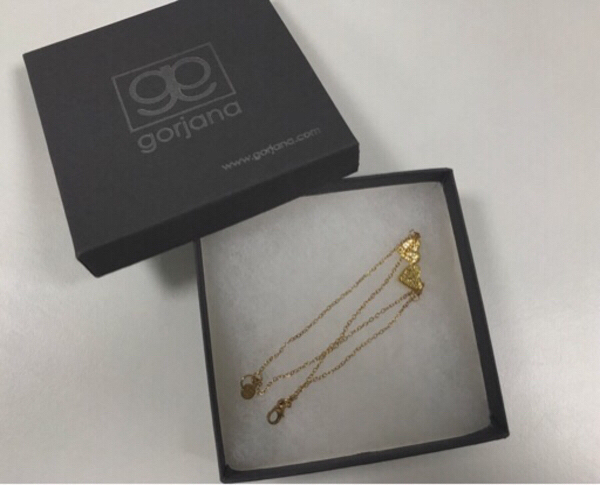 Used Gorjana 18k Gold Plated Bracelet in Dubai, UAE