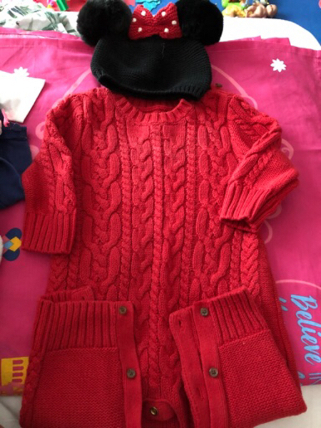 Used Girl clothes fro 3-6 m ,6-9 m in Dubai, UAE