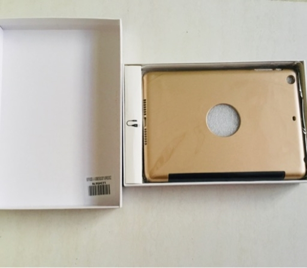 Used 2 in 1 iPad Smart Case mini 1 2 3 Gold in Dubai, UAE