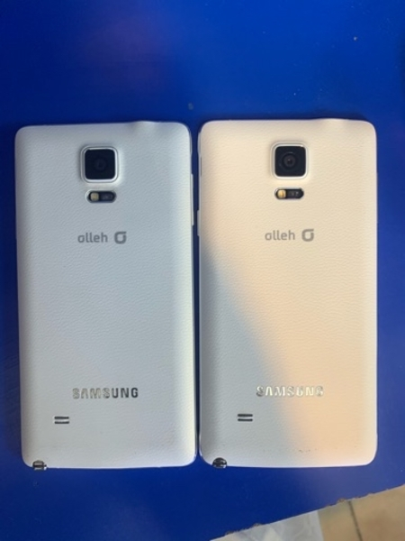 Used Big Offer 2pcs NOTE 4 - White For SALE in Dubai, UAE