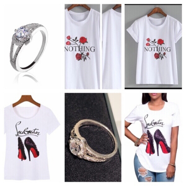 Used 3 T-Shirts size S/M & 1 ring 🎁 in Dubai, UAE