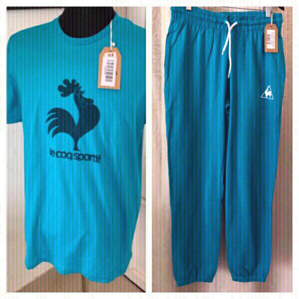 Used Sport outfit le coq sportif 💯% cotton in Dubai, UAE