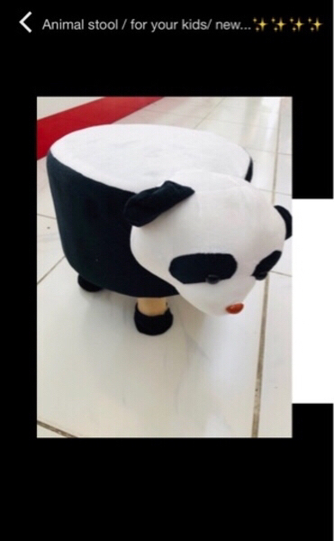 Used Animal stool / for your kids 👶/new..✨✨✨ in Dubai, UAE